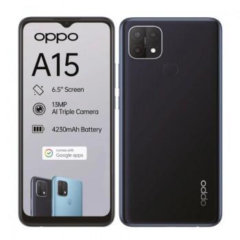 OPPO A15 Dynamic Black